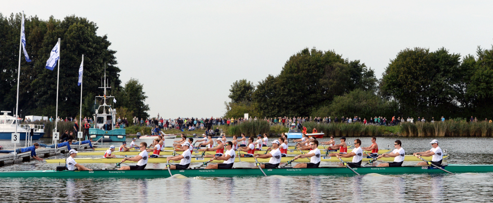 Am Start in Rendsburg, Foto: Deutschland-Achter GmbH
