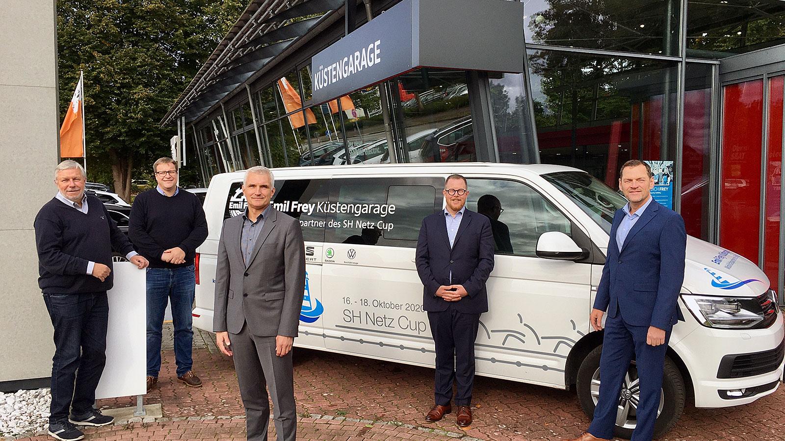 Emil Frey Küstengarage: Neue Mobilität für den SH Netz Cup