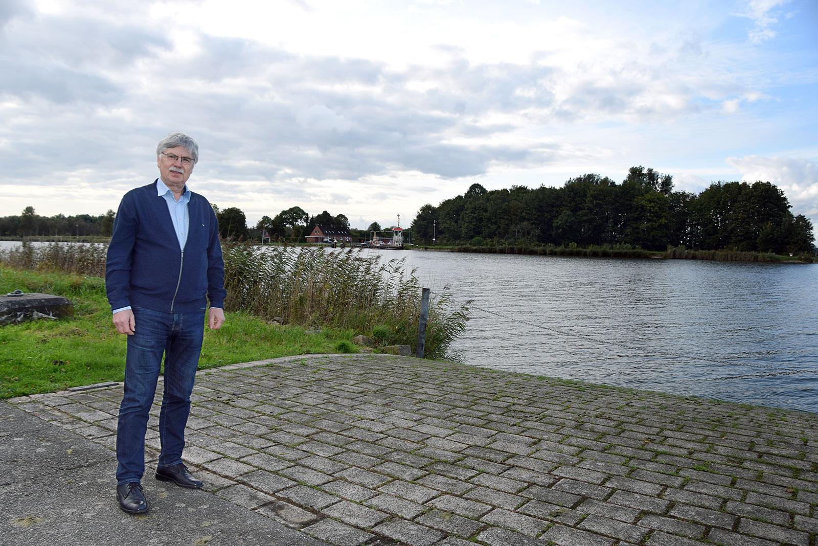 Harald Klotzbücher, Bürgermeister der Gemeinde Breiholz