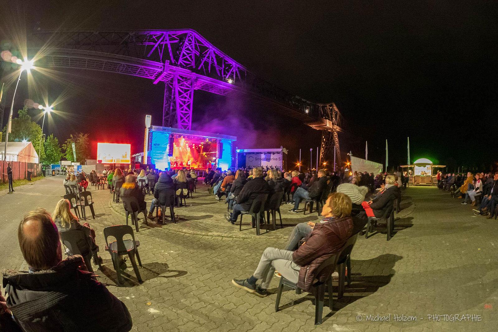 SH Netz Cup 2020 mit Konzert von Glasperlenspiel. Foto: Michael Holzem