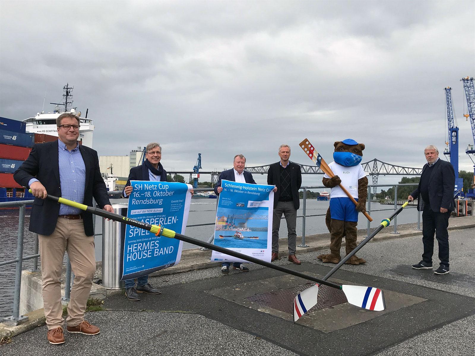 20. Schleswig-Holstein Netz Cup mit Ruderrennen, Drachenbootwettbewerben und Konzerten