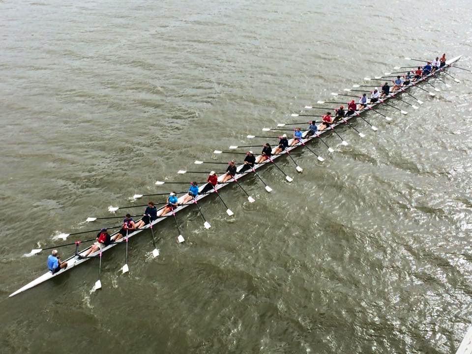 Stämpfli-Express, das längste Rennruderboot der Welt