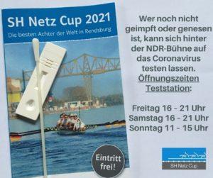 SH Netz Cup 2021: Öffnungszeiten Teststation